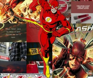 flash, dc comics, and red image
