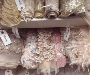 fashion, fabric, and lace image