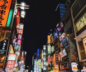 japan, japanese, and lights image