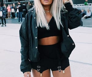 girls, hair, and outfits image