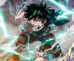 anime boy, boku no hero academia, and izuku midoriya image