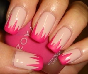 nails, nails style, and pink image