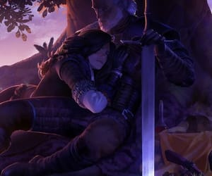 the witcher, yennefer, and wild hunt image
