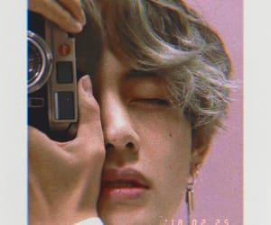aesthetic, v, and bts image