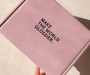 box, makeup, and pink image