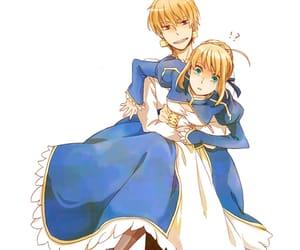 anime, fate, and couple image