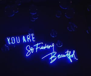 quotes, light, and neon image