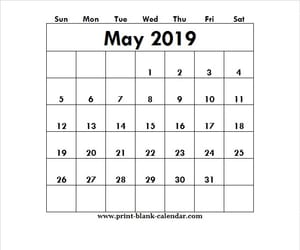 2019 may calendar and 2019 may calendar design image