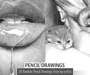 pencil drawing, pencil drawings, and realistic pencil drawings image