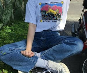 90's, clothes, and jeans image