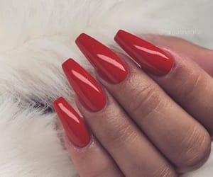 inspiration, nail polish, and red nails image