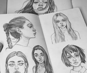 art, قلم, and فن image