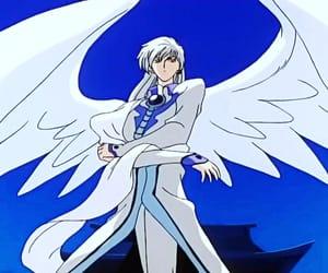 angel, beautiful, and card image