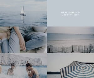 art, we were liars, and blue image