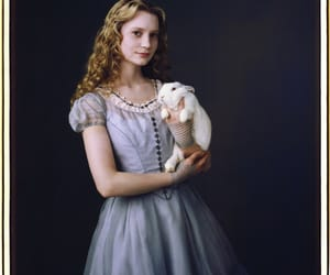 alice in wonderland, alice, and Mia Wasikowska image