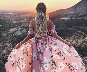 beautiful, hair, and dress image