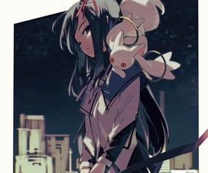 madoka magica and akemi homura image