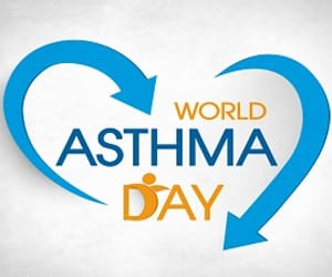 health, asthma, and air pollution image