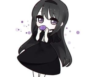 anime, kawaii, and akemi homura image