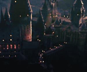 harry potter, hogwarts, and gif image