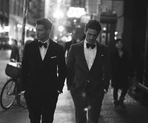 boy, suit, and men image
