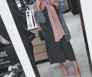 outfit, hijab, and fashion image