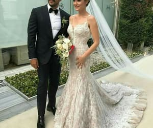wedding, couple, and fahriye evcen image