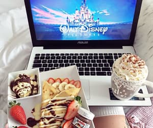 disney, food, and breakfast image