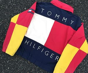 colourful, hilfiger, and style image