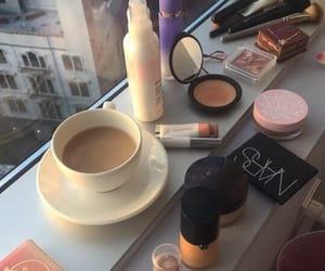 coffee and makeup image