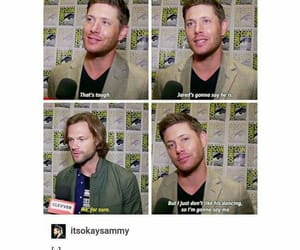 crowley, dean winchester, and hunters image