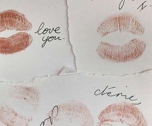 kiss, vintage, and lips image