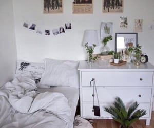 architecture, bedroom, and chic image