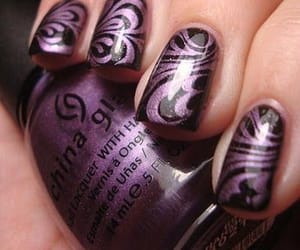 china glaze, fingers, and nails image