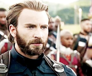 gif, chris evans, and Avengers image