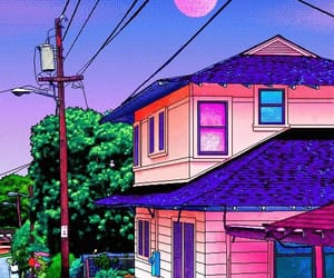 pixel and vaporwave image