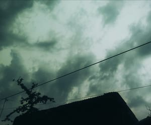 dark, rain, and sky image
