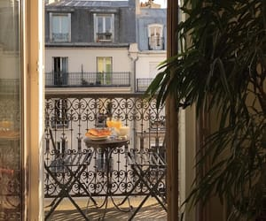 paris, breakfast, and view image
