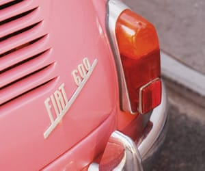 cars, vintage, and fiat image
