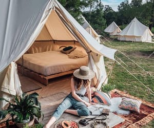 adventure, bohemian, and camp image