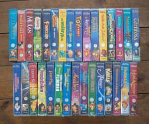 90s, disney, and vhs image