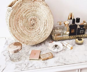 makeup, perfume, and must haves image