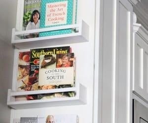 bookshelf, diy, and kitchen image