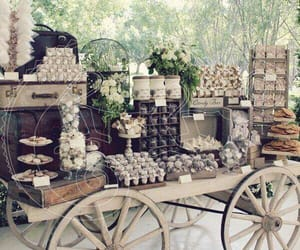 buffet, food, and wedding image