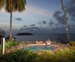 Caribbean, romance, and love image
