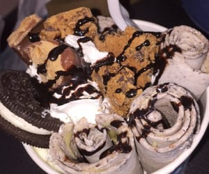 cookie, eis, and food image