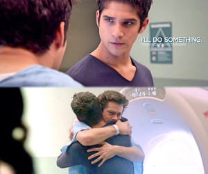 tyler posey, dylan o'brien, and scott mccall image
