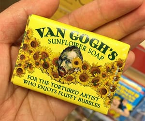 soap, aesthetic, and sunflower image