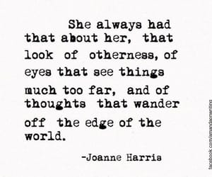 quotes, eyes, and joanne harris image