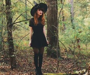 witch, fashion, and Halloween image